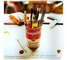 Soup Can Pencil cup Poster