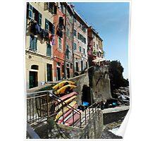 Riomaggiore Harbor Poster