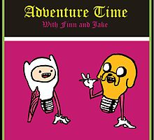 Adventure time with Finn and Jake by gufanda