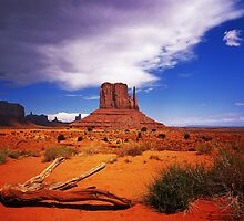 The Mitten of Monument Valley by Daniel  Chui