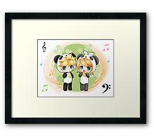 Rin and Len Framed Print