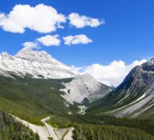 Canadian Rockies Sticker