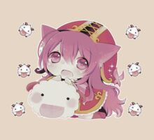 Lulu and Poro by AsunaYuuki
