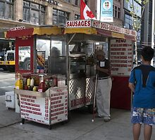 The Hot Dog Stand by Marylou Badeaux