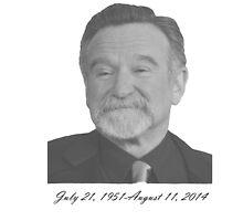 Robin Williams by MattyIceApparel