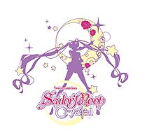 Sailor Moon Crystal Design #1 Photographic Print