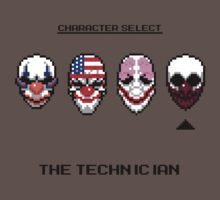 Masking Up - The Technician by Scott Duncan