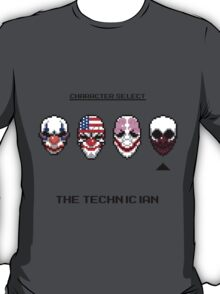 Masking Up - The Technician T-Shirt