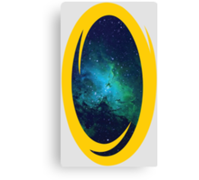 Portal to Space Canvas Print