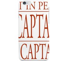 Rest In Peace Robin Williams - Dead Poet Society iPhone Case/Skin
