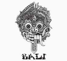 Barong Bali Art Black by flawliet