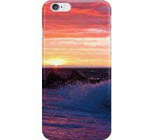 Love on the Horizon - Cedar Beach, Mount Sinai, NY iPhone Case/Skin