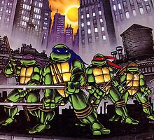 Teenage Mutant Ninja Turtles by jetibbetts