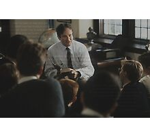 Dead Poet's Society - O Captain My Captain  Photographic Print