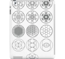 13 Circles of Sacred Geometry   FRESH iPad Case/Skin