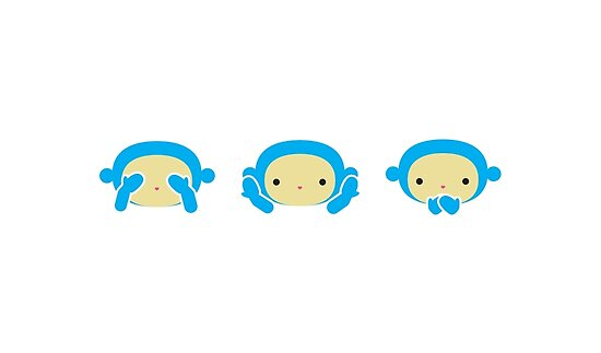 3 Wise Monkeys by imaginarystory