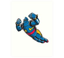 Gigantor the space age robot Art Print