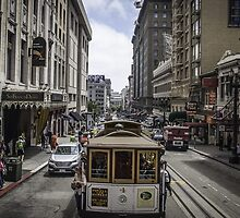 A Cable Car in San Francisco by shambly