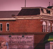 Antique Architecture With Mural by pjm286