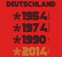 Germany World Cups All Time by refreshdesign