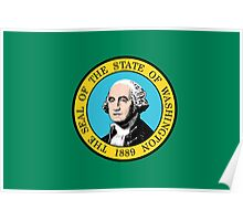 Washington State Flag Poster