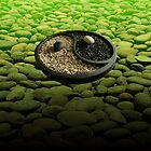 Yinyang Series - Green by Keith Richardson