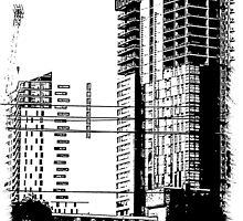 Skyscraper Under Construction by jimmydeewon
