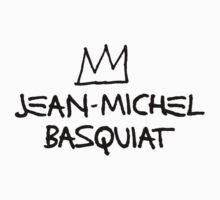 Jean michel Basquiat Shirt Jumper Sticker by DeadWombatTV