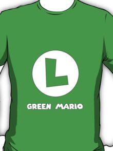Green Mario (Luigi). T-Shirt