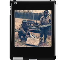 Happy Easter Hitler. Soldiers Vintage photo iPad Case/Skin