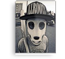 Baseball mask Metal Print