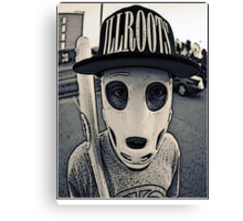 Baseball mask Canvas Print