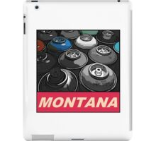 Montana Spray t-shirt iPad Case/Skin
