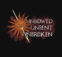 Unbowed Unbent Unbroken - House Martell by Madex