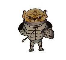 Dr Who- Sontaran x French Bulldog by Liddle-Ideas