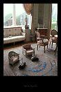 Sitting at the Villa Ephrussi by Roberta Angiolani