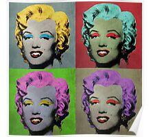 Vampire Marilyn set of 4 Poster