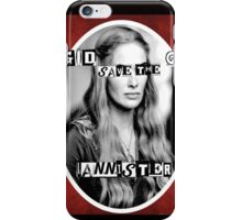Mozart and Marie Game of Thrones God Save the Queen Cersei iPhone Case/Skin