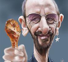 Ringo Starr by arievanderwyst