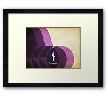 The Jesus Framed Print