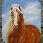 Lusitano Gold - fridge magnet by louisegreen