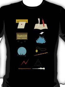 Harry Potter Through the Years Minimalist T-Shirt
