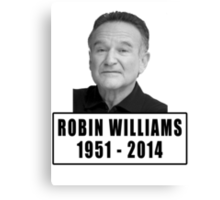 Robin Williams (1951 - 2014) Canvas Print