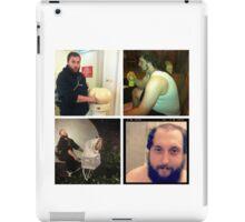 Many faces iPad Case/Skin