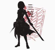 Mikasa by fanfreak1