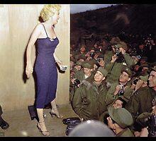 Marilyn Monroe, 1954 by Dana Keller