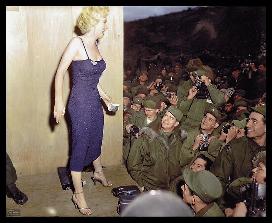 Marilyn Monroe, 1954 by Dana Keller