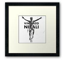 Vincenzo B&W Framed Print