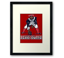 Darrelle Revis - Revis Island New England Patriots Framed Print