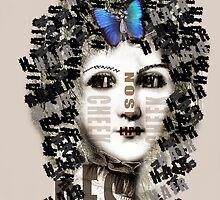 lady butterfly by Harriet Wenske